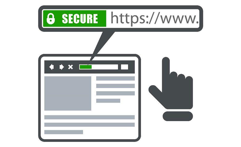 HTTPS es igual a conexión segura,no a servidor seguro